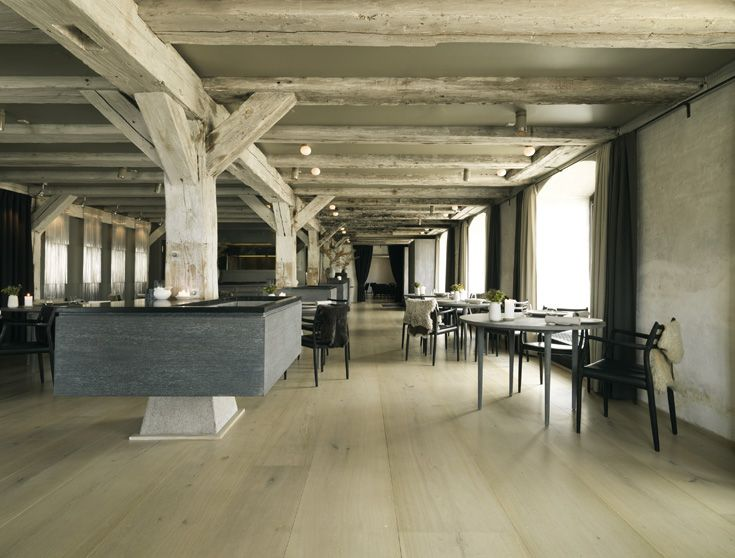 Dinesen HeartOak at NOMA, World's Best Restaurant in Copenhagen. Architects: SPACE Cph. #allgoodthings #danish spotted by @missdesignsays
