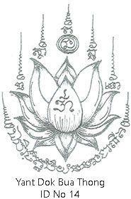 Thai Tattoo Sak Yant Designs