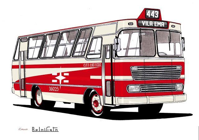 Will.Bus: Caio Bela Vista / Mercedes-Benz LPO 344 - (SP) Empresa de Ônibus Vila Ema Ltda. (Década de 70)