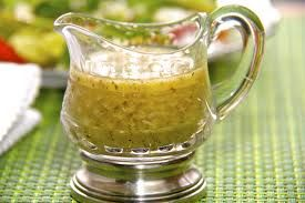 Love Longhorn House dressing - this one will make you happy.  I put olives and tomatoes together and added to salad separately.  Good dressing.
