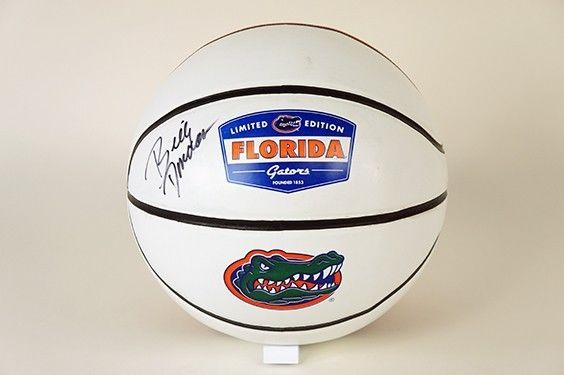 Head Coach Billy Donovan Signed Full Size Rawlings Florida Gators Basketball  Also includes: two tickets to the 2014 Florida vs. Arkansas Men's Basketball game (date TBD)!!   #BidNow #ESPN #ESPYDay #TheVFoundation #FloridaGators