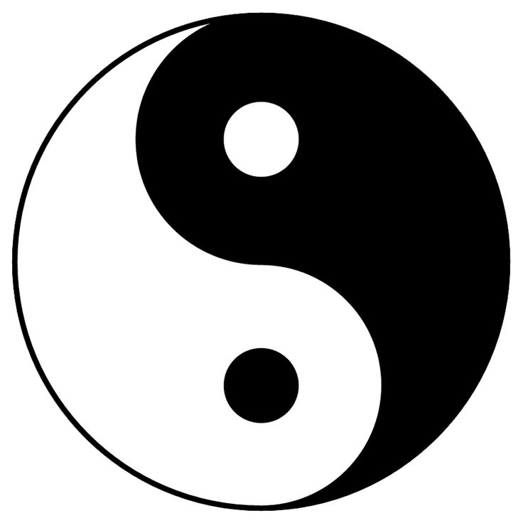 Yin and Yang depicts the lesson of balancing your life.
