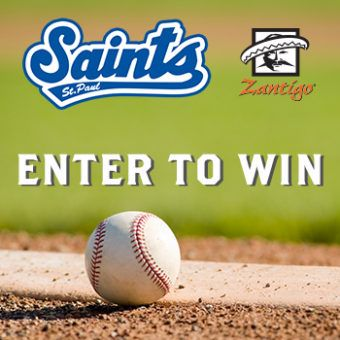 Knock it out of the park at CHS field this baseball season! Zantigo is pairing up with the St. Paul Saints to get you to the game. Three (3) winners will receive a St. Paul Saints Family 4-pack of tickets and $50 in Saints Bucks! Hit a home run by entering today!