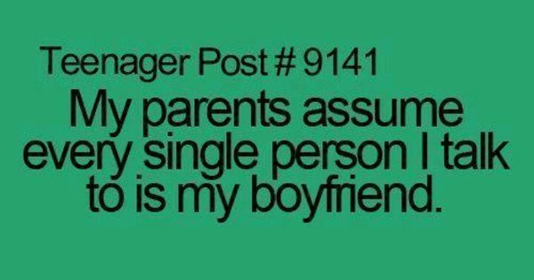 Pin by Vicky on Teenager post | Pinterest | Haha, Parents and My boyfriend #AnnoyingParenting