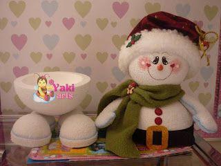 Foto 2 - Muñeco de nieve bombonera