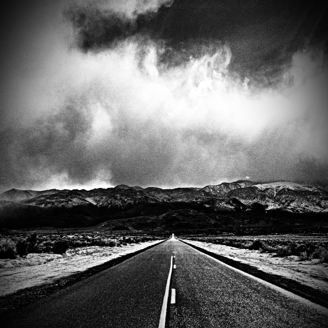 End of the road. ~Stacy Sparrow
