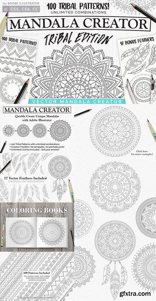 CM - Tribal Mandala Creator 1503487