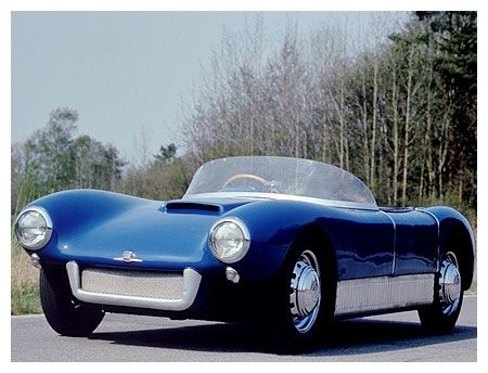 SAAB Sonett, introduced 1956