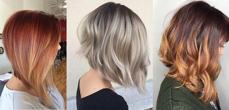 Confira 30 Modelos de corte de cabelo Long Bob para morenas e loiras. Fotos de long bob para rosto redondo, cacheado, repicado,luzes, balayage,mechas.