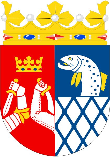 Coats of Arms of  Kymi Province (1962-1997), Finland