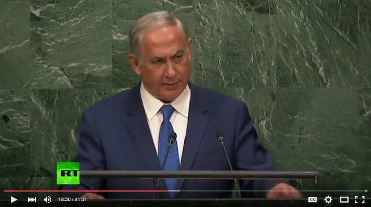 Netanyahu addresses UN General Assembly {FULL SPEECH} - - Israeli PM Benjamin Netanyahu addresses the UN General Assembly. Goes on to discuss why Israel doesn't support Iran Deal. †