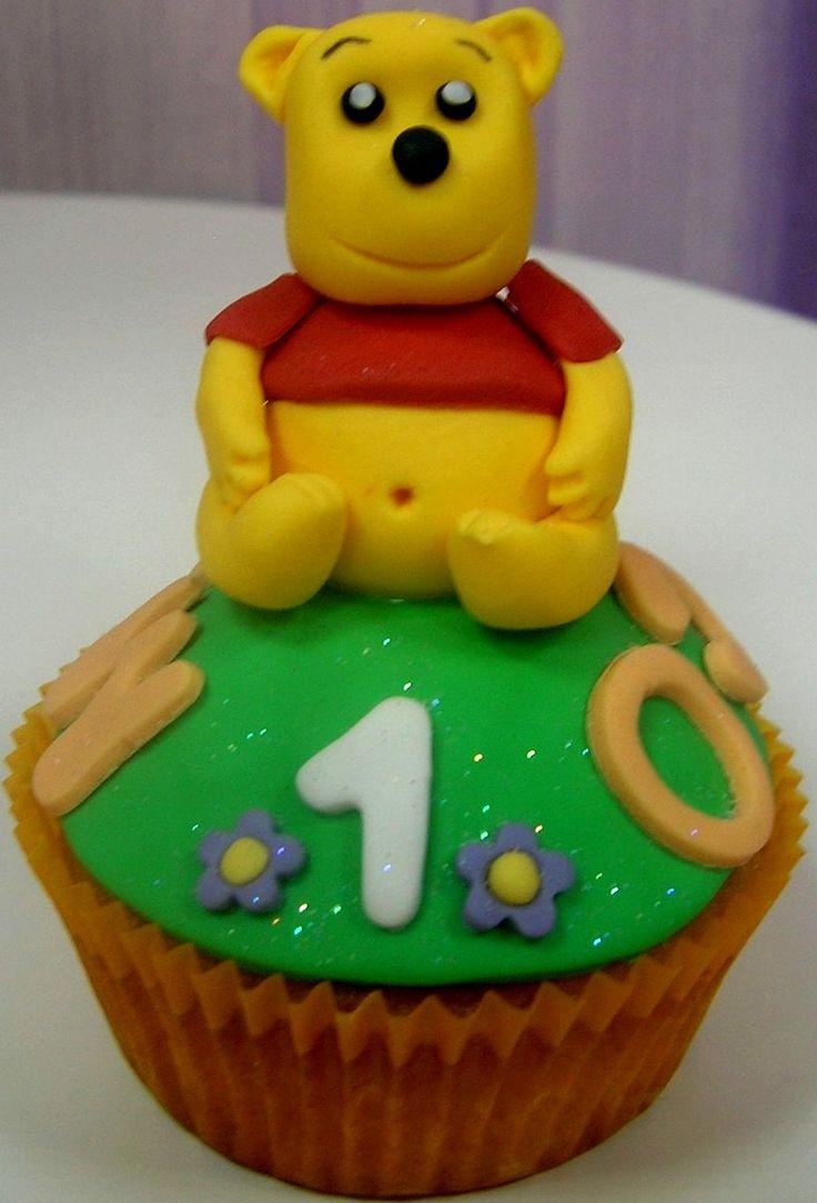 Cupcake para Marco en su primer cumpleaños, no hace falta deciros quién es su personaje favorito...
