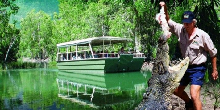 Hartley's Crocodile Adventures Package  Enquire http://www.fnqapartments.com/package-cairns-family-breakaway-package/area-cairns/  #CairnsHolidayPackage