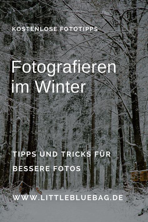Fotografieren im Winter – Silke Herter