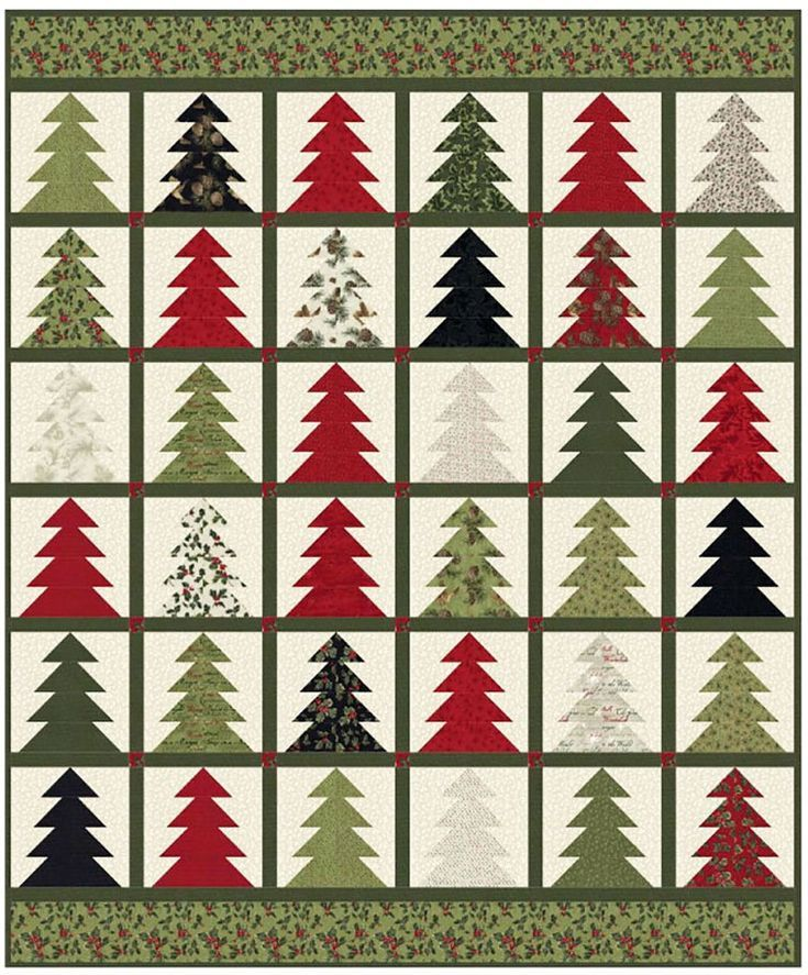 Tree Farm Quilt Sewing Pattern From Coach House Designs Quilt Sewing Patterns Farm Quilt Patterns Farm Quilt
