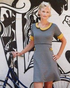 Super smart , gad jeg da godt at sy ;-) A-M Retro+kjole+god+til+jerseystoffer+++-+stof2000.dk