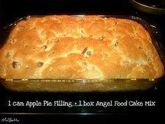 Mix Angel Food Mix Can Any Pie Filling Pour Into 9x13