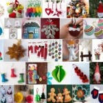 80+ Christmas felt ornaments
