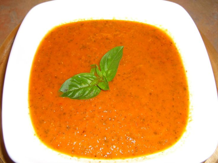 Roasted Tomato Basil Soup. Mmmmmmmm... Tomatoes...Roasted Tomatoes, Olive Oils, Dairy Free, No Dairy, Gluten Free, Basil Soup, Tomatoes Basil, Soup Recipes, Tomatoes Soup