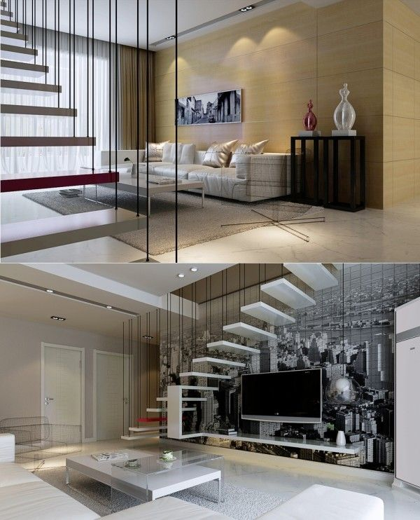 Suspended Style 32 Floating Staircase Ideas For The: 454 Best Images About Amazing Stair Designs On Pinterest