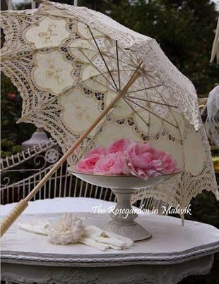 a very well crafted parasol very beautiful in its own Victorian way