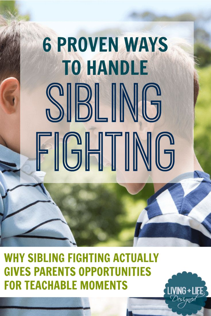 I love taking a positive approach to helping my kids work through sibling fights. These are truly helpful to helping them develop better communication skills so they can work it out on their own! #siblingfighting