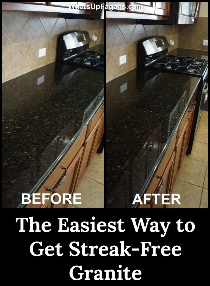 How Often Should You Seal Granite Countertops Cleaning Granite Countertops Caring For Granite Countertops Granite Countertops