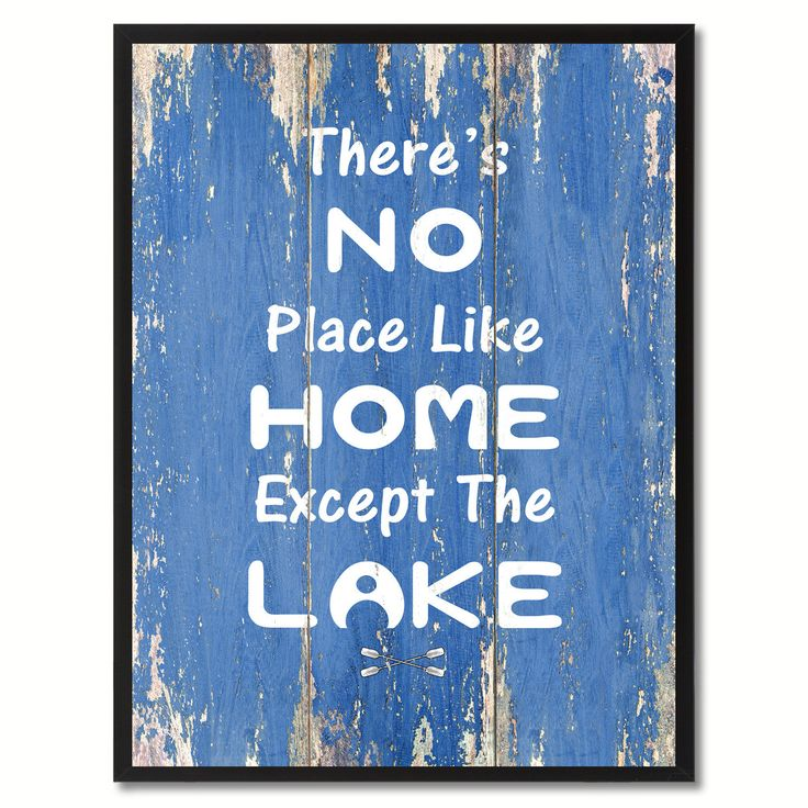 294 Best Lake Quotes, Home Decor, Gifts Ideas Images On Pinterest | Lake  Quotes, Wall Art And College Grad Gifts