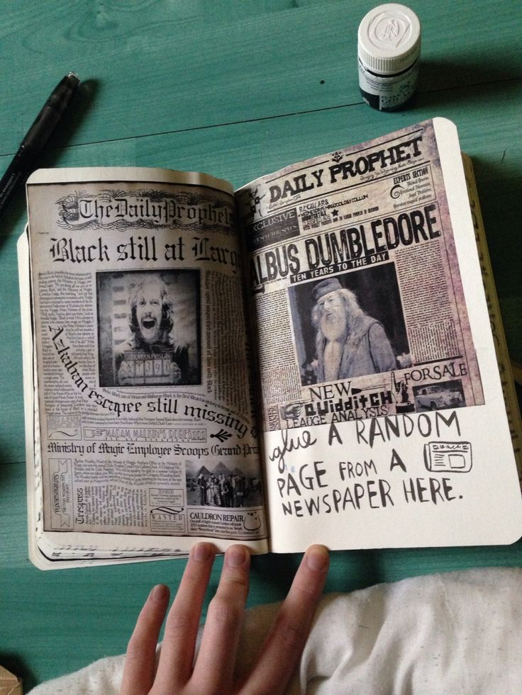 Wreck this journal Harry Potter