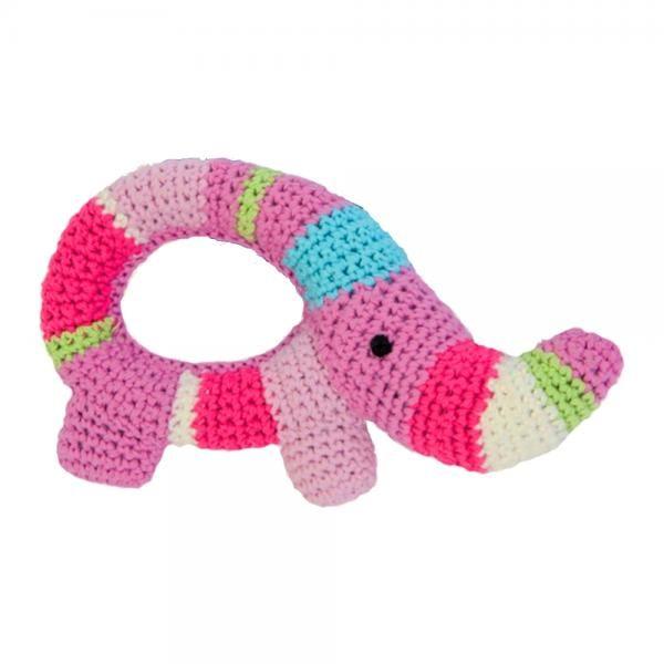 elefant rangle - hæklet