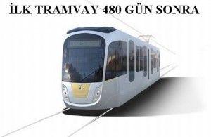 Konya'nın ilk tramvayı 480 gün sonra gelecek