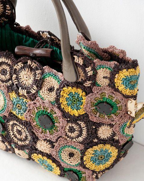JAMIN PUECH crochet purse:
