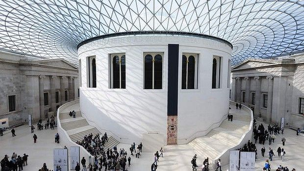 The British Museum in London - one of 50 free attractions across the world.