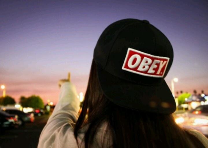 Girls Wearing Obey Snapbacks