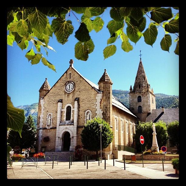 Lans en Vercors, l'église. (Pris avec Instagram à Lans en vercors)