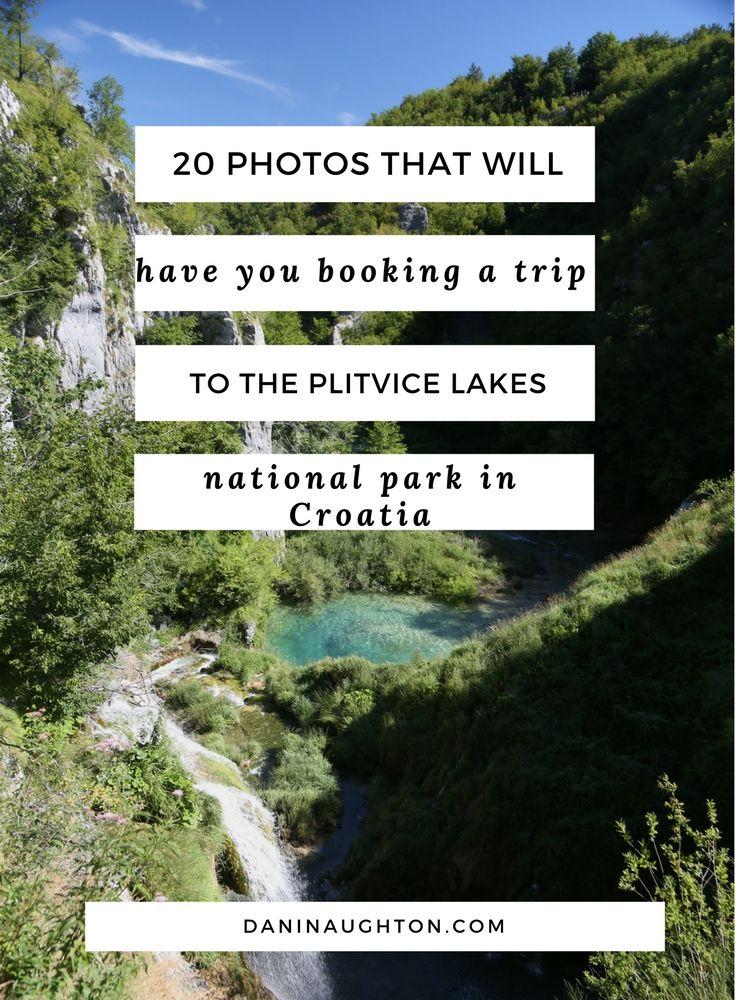 PLITVICE LAKES NATIONAL PARK | CROATIAN NATIONAL PARKS | WATERFALLS IN CROATIA | EUROPEAN NATIONAL PARKS | NATIONAL PARKS IN CROATIA |