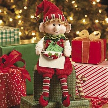 "12"" Elf with Envelope for Card Gift Holiday Chistmas Santa Helper Santa's Elves"