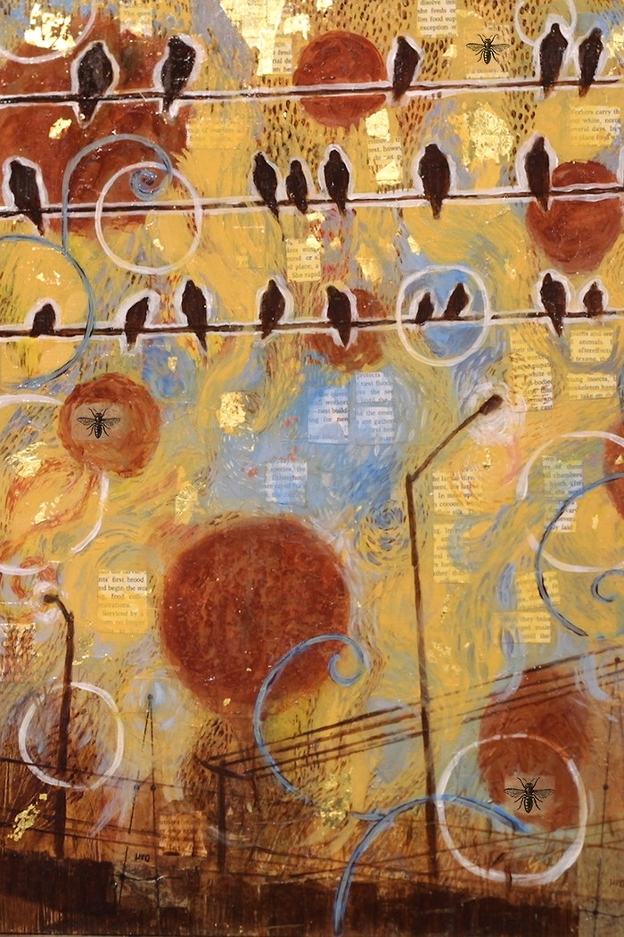 : Art Journals Mixed, Birds Art, Art Design Inspiration, Birds Watches, Art Inspiration, Mixed Media Art, Art Collage Mixed, Media Inspiration, Judy Paul