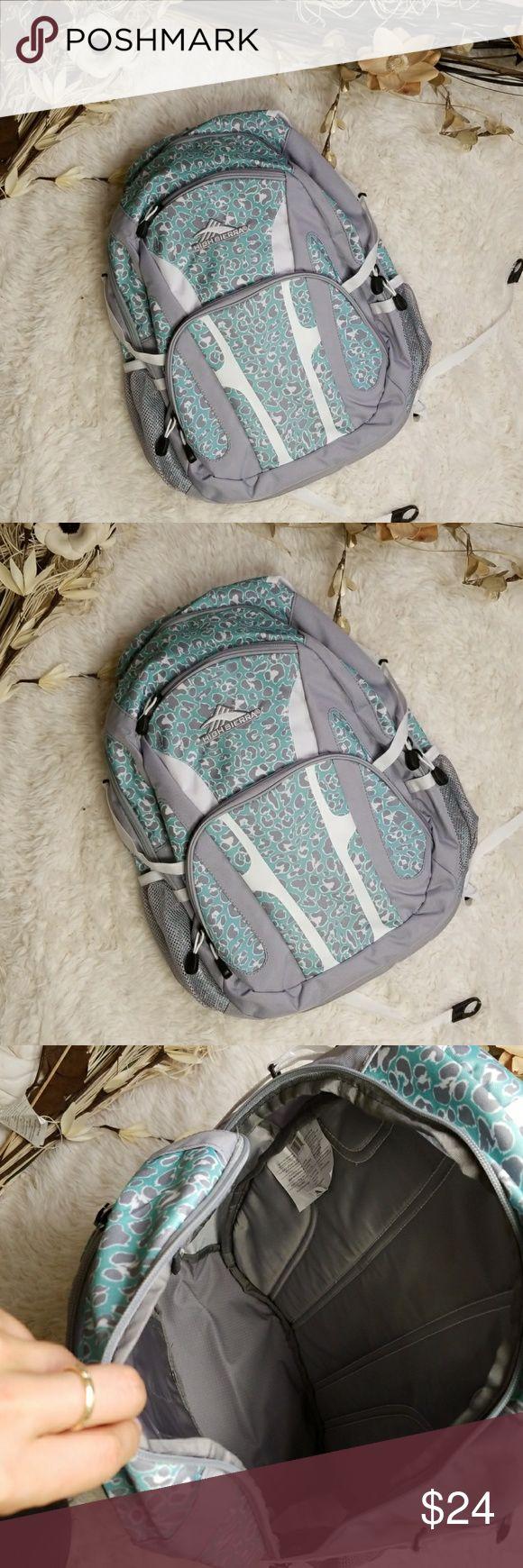 High Sierra Backpack Brand new with tag   Dimensions:   19.5 × 13 × 8 in   MQ000021518600 High Sierra Bags Backpacks