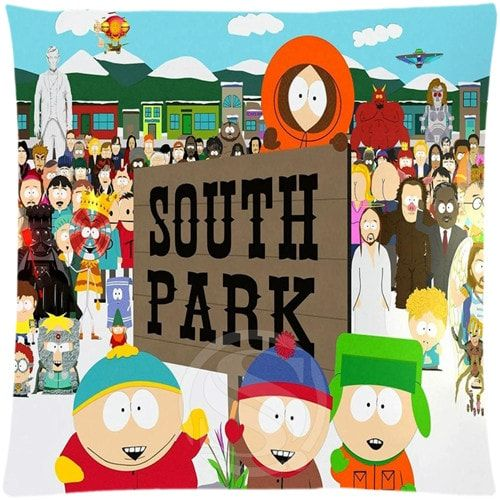 Pillowcase South Park 35x35 //Price: $17.35 & FREE Shipping //     #southparkstyle