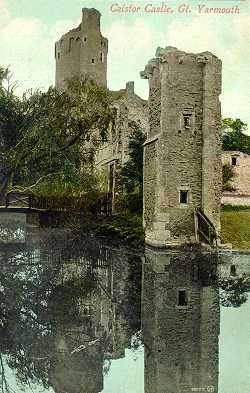 15th century moated Caister Castle, Norfolk, England