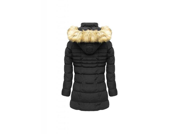 Dámská zimní bunda - černá