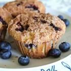 To Die For Blueberry Muffins Recipe with a Cinnamon Crumb topping!  Just made these tonight and they look delicious!