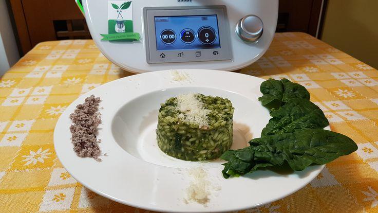 Risotto con spinaci bimby