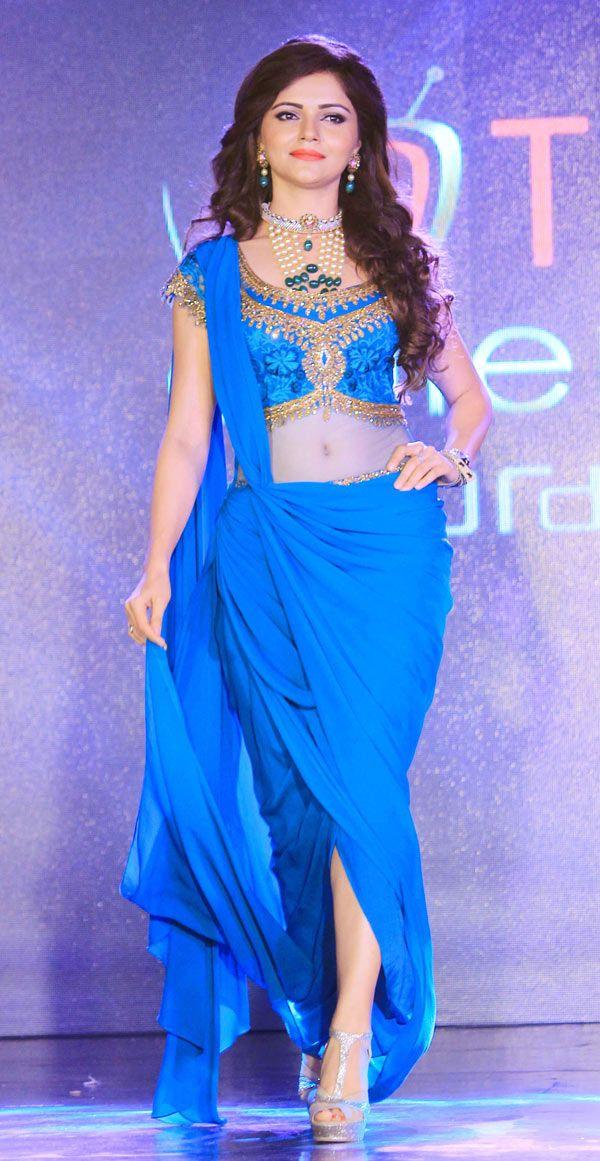 Rubina Dilaik at the launch of Telly Calendar 2015. #Bollywood #Fashion #Style #Beauty