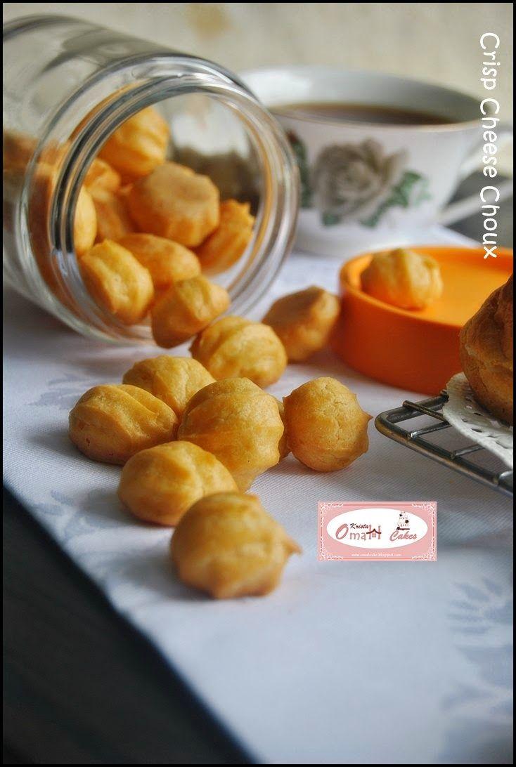 KRISTA MOCAF KITCHEN: Crisp Cheese Choux / Sus Kering
