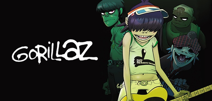 Gorillaz – Ενα συγκρότημα, μια εικονική πραγματικότητα
