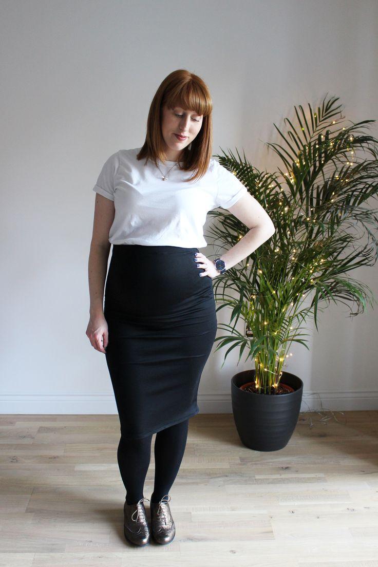 Erin maternity skirt by Ginger Thread Girl