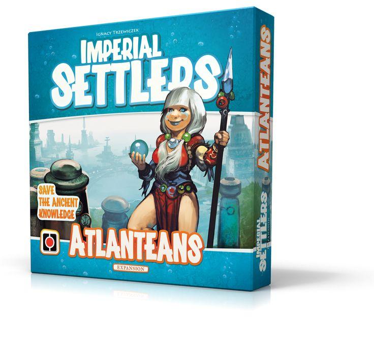 Imperial Settlers: Atlanteans. Art: Morano. Design: Rafał Szyma