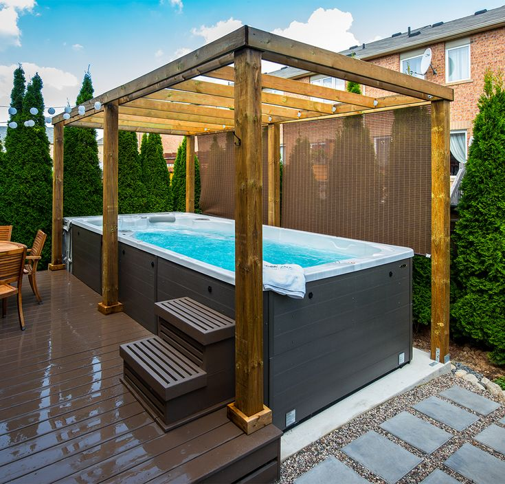 66 best Swim Spa Install Ideas images on Pinterest